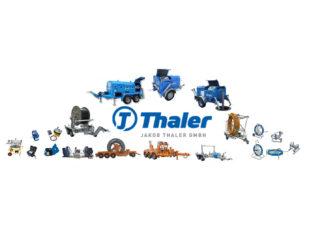 Oprema za polaganje i upuhivanje optičkih kablova J. THALER