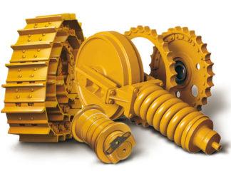 Gusjenice i pogonski dijelovi doljnjeg stroja ITM