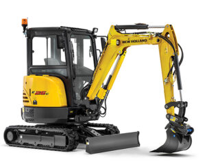NEW HOLLAND gumene gusjenice